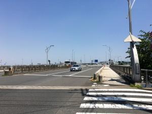 羽田の入り口、穴守橋