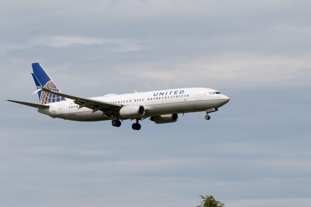 ユナイテッド航空 B737