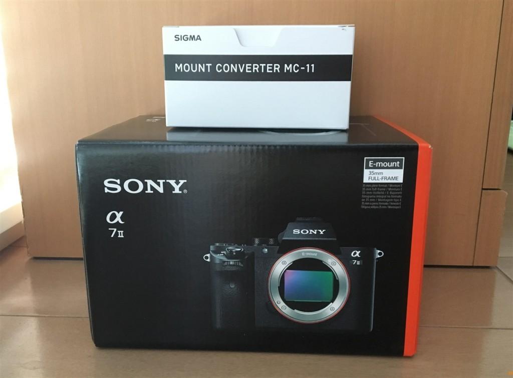 Sony α7IIとSIGMA MC-11