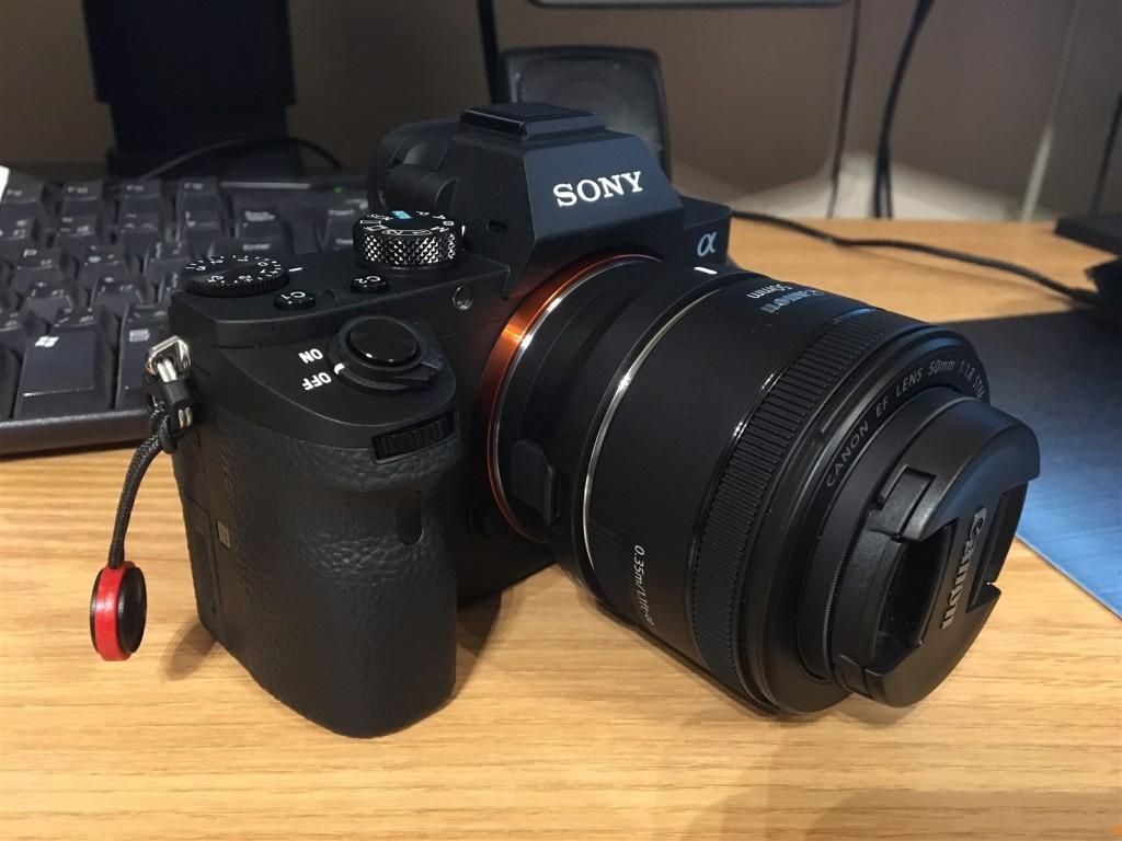 α7II+MC-11+EF50mm F1.8 STM