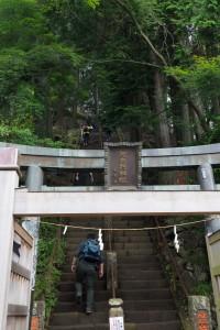 いきなり急な階段